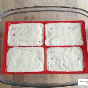 Les gaufres avant la cuisson à l'Omnicuiseur