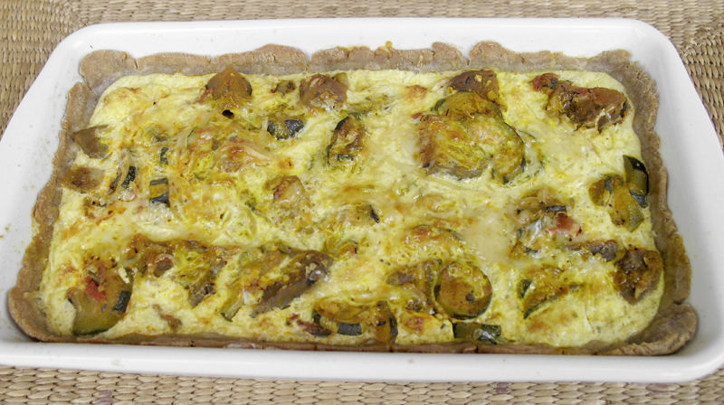 recette quiche ratatouille sans gluten omnicuiseur. Black Bedroom Furniture Sets. Home Design Ideas