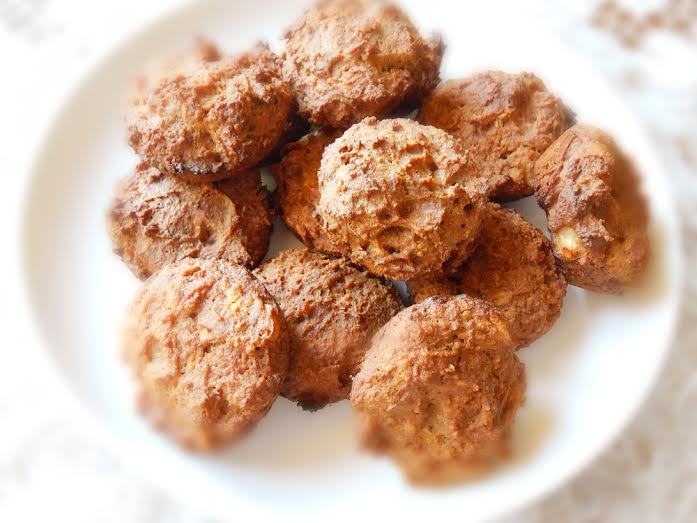 Résultat : des biscuits moelleux à la pomme, cuits à basse température ! Bon appétit