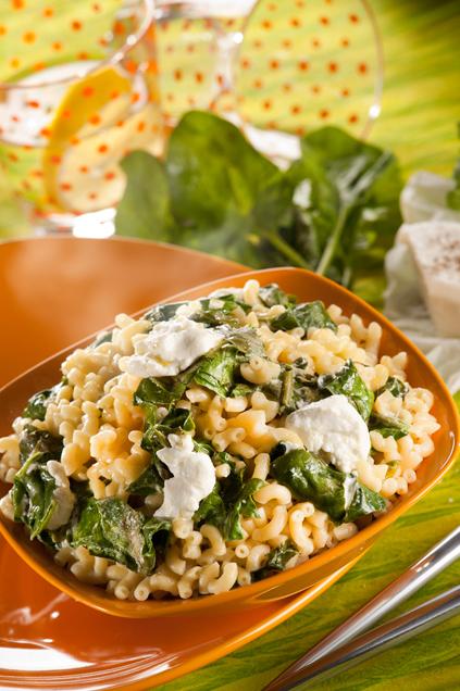 one-pot-pasta-coquillettes-epinards-chevre-frais