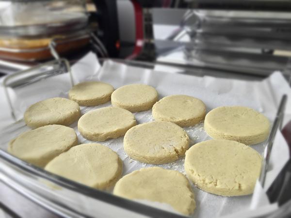 Les sablés avant cuisson à basse température à l'Omnicuiseur Vitalité