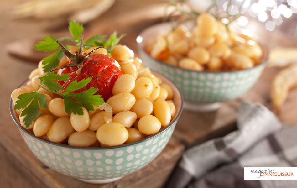 Les haricots après cuisson vapeur. Bon appétit !