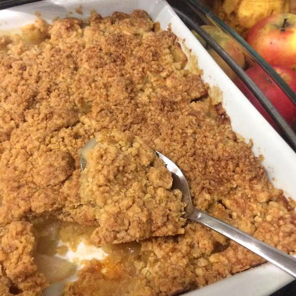 crumble-pommes-poires