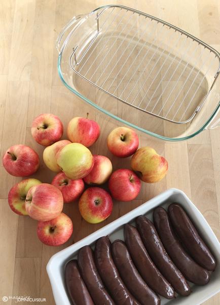 materiel-recette-boudin-pommes-vapeur