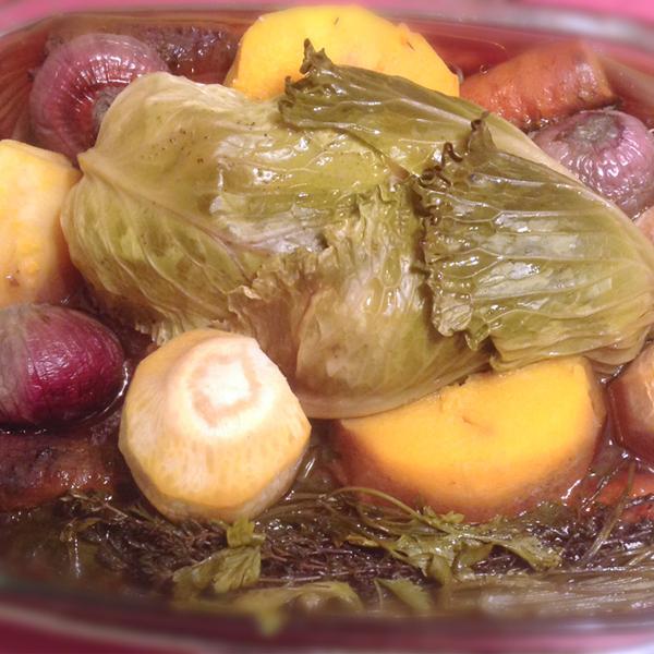 recette poule au pot aux l 233 gumes chatoyants omnicuiseur