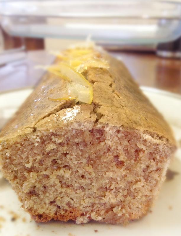 Cake Citron Sans Gluten Sans Lactose