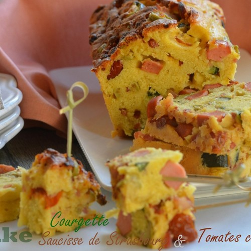 cake-courgette-tomates-saucisse