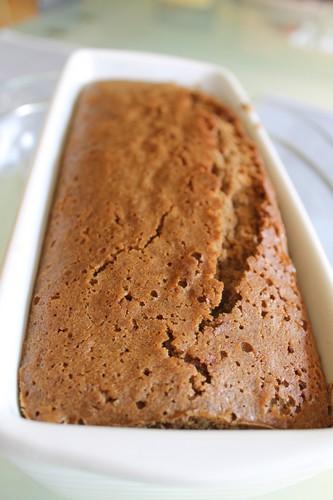Cake Orange Fond Chocolat