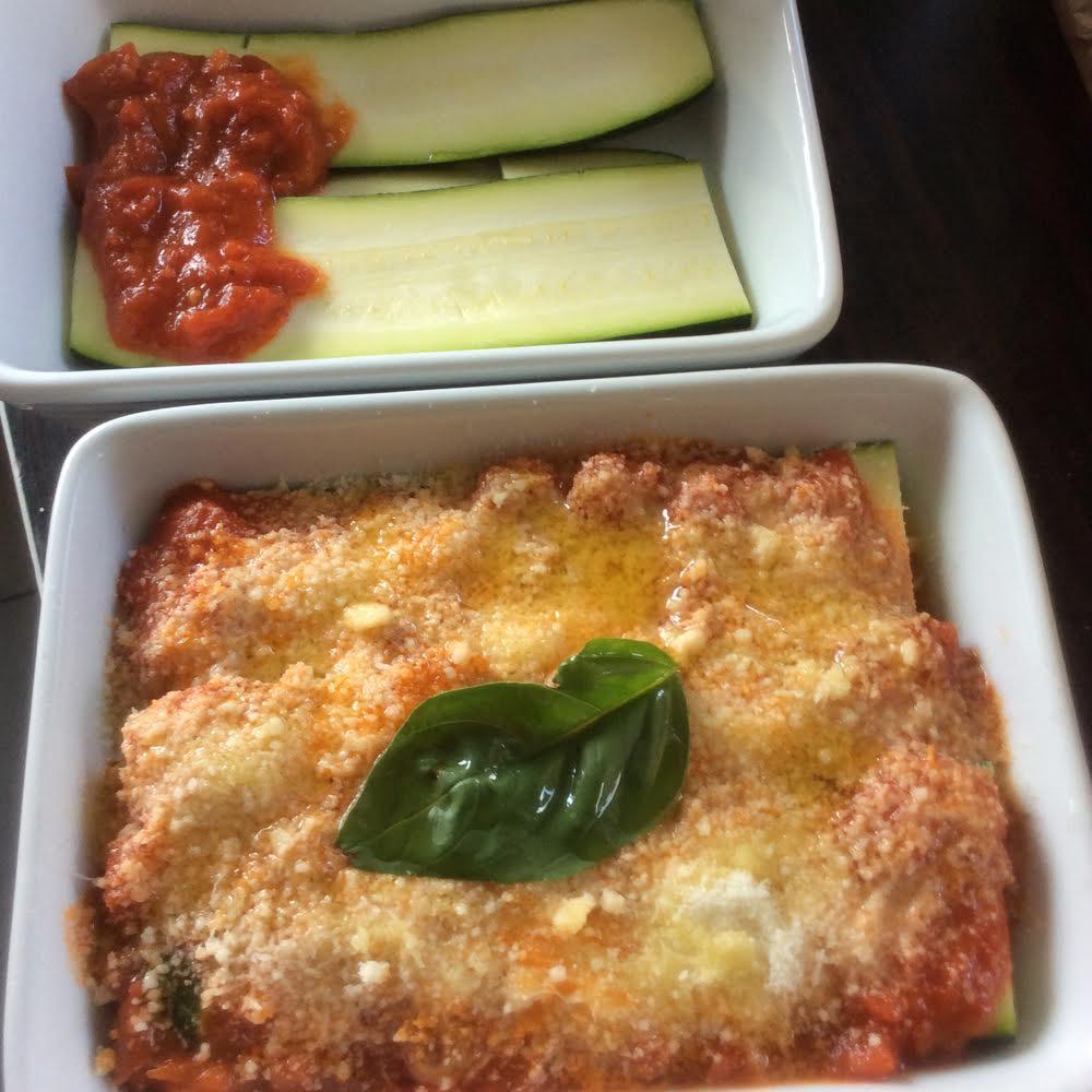 courgette parmigiana cuisson vapeur