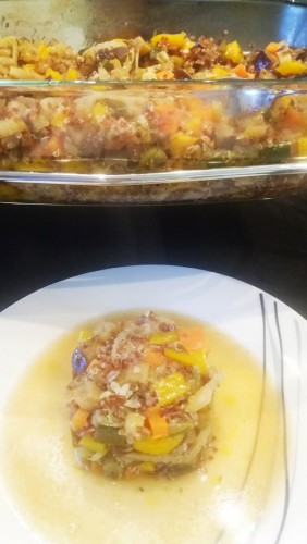 granola legume cuisson vapeur