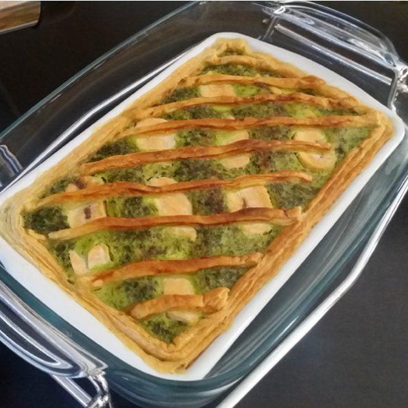 quiche épinard aneth saumon cuisson douce