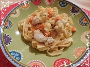 blanquette poisson tagliatelles cuisson douce