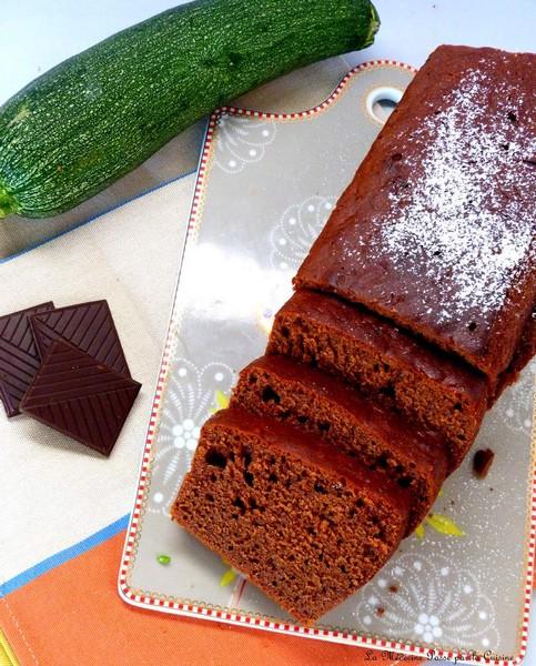 cake vegan chocolat courgettes