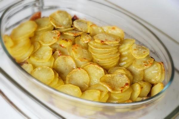 gratin pommes de terre canard cuisson douce