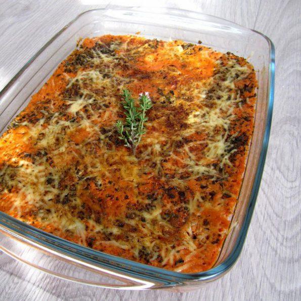 gratin thon tomate aux herbes cuisson vapeur