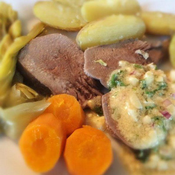 langue de veau légumes cuisson douce