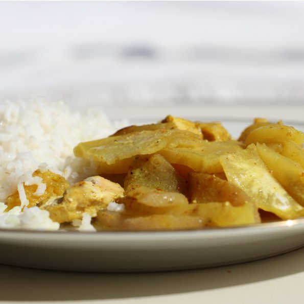 Tajine poulet celeri cuisson vapeur