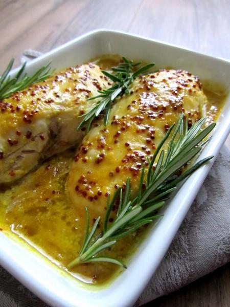 filets poulet moutarde miel cuisson douce