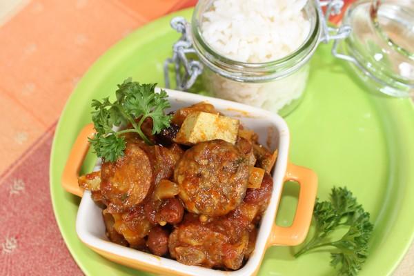 rougail saucisse legume cuisson omnicuiseur