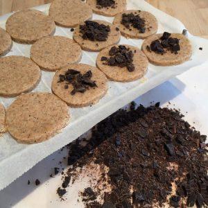 Etape 6 : saupoudrez de chocolat