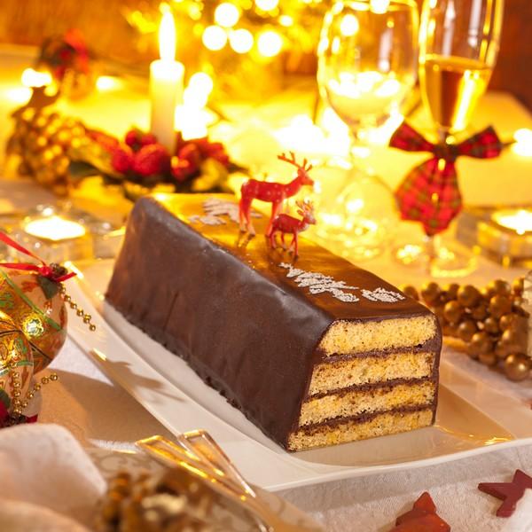 Recette biscuit buche de noel au chocolat