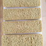 Etape 1 : découpage du biscuit