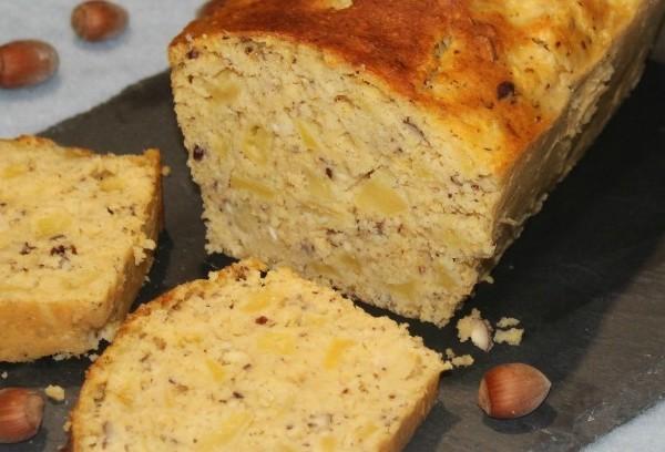 Cake pommes-noisettes à la cuisson vapeur douce