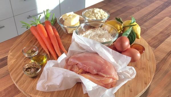 Les ingrédients du plat combiné à L'Omnicuiseur Vitalité
