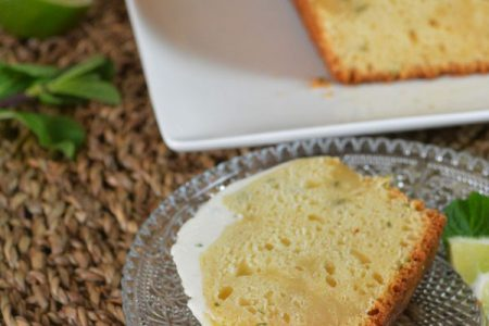 Le cake mojito de Lolibox