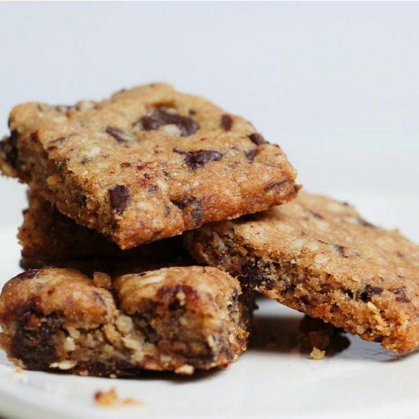 Cookie au chocolat sans gluten
