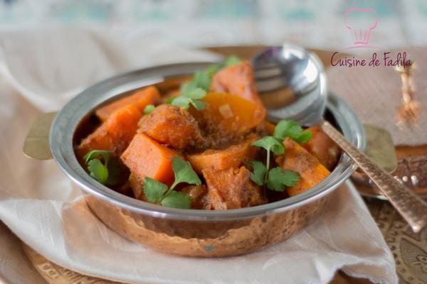 La version végétarienne du poulet masala