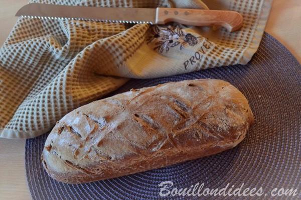 Recette de pain sans gluten doré aux infrarouges