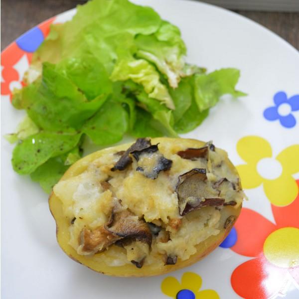Recette de pommes de terre farcies à L'Omnicuiseur
