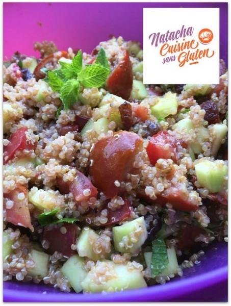 Le taboulé au quinoa à l'Omnicuiseur