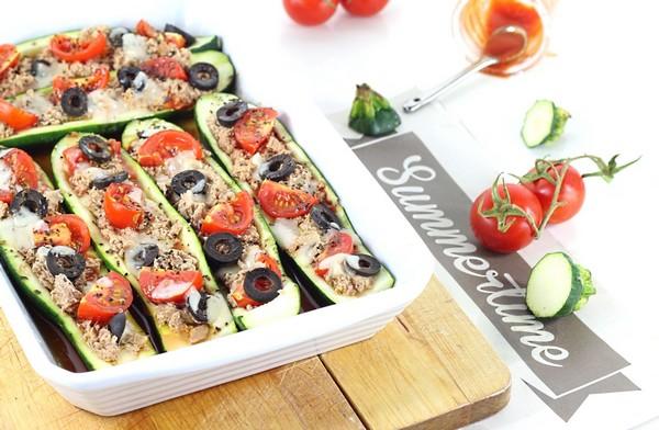 Des courgettes à l'italienne cuites à l'Omnicuiseur
