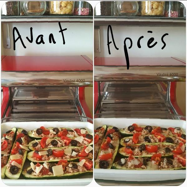 Courgettes à l'italienne et à la cuisson vapeur douce