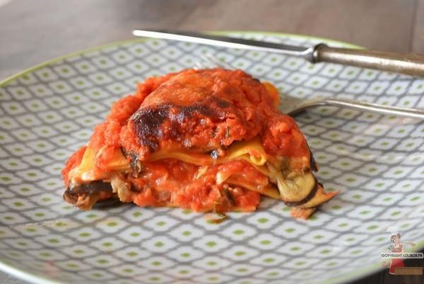 Les lasagnes alla parmigiana