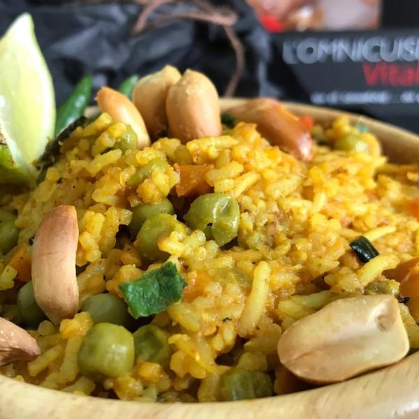 La recette du riz biryani à l'Omnicuiseur