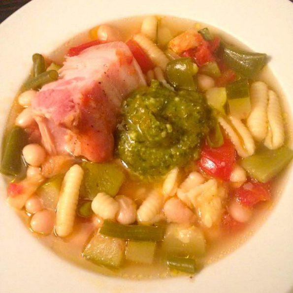 La recette de la soupe au pistou à la cuisson basse température