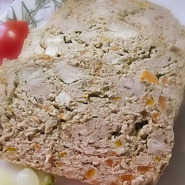 La terrine de lapin cuite à L'Omnicuiseur