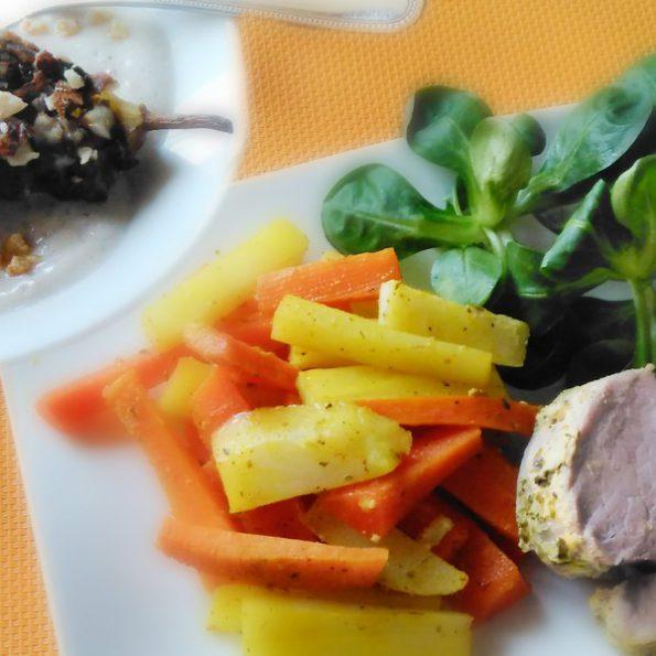 Une recette de plat combiné à L'Omnicuiseur