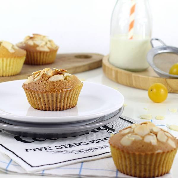 muffins amandes mirabelles