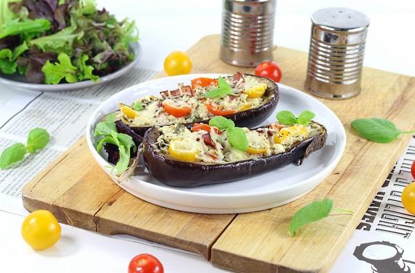 la recette des aubergines farcies à l'Omnicuiseur