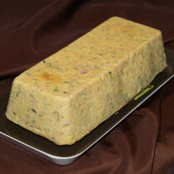 Pain aux courgettes et au jambon à cuire à l'Omnicuiseur