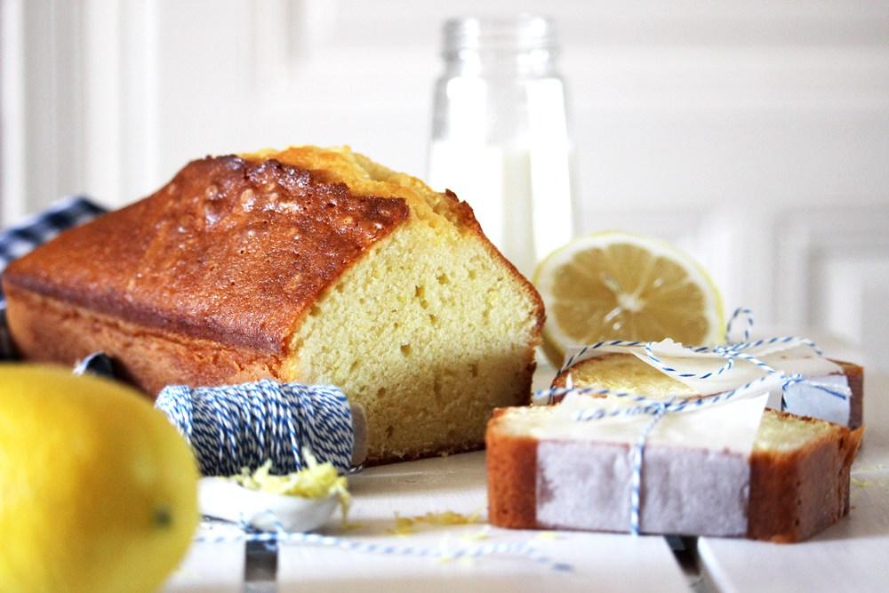 Un cake au citron à l'omnicuiseur