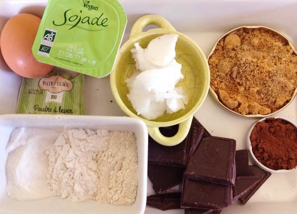 Les ingrédients de la recette du gâteau Raphaël