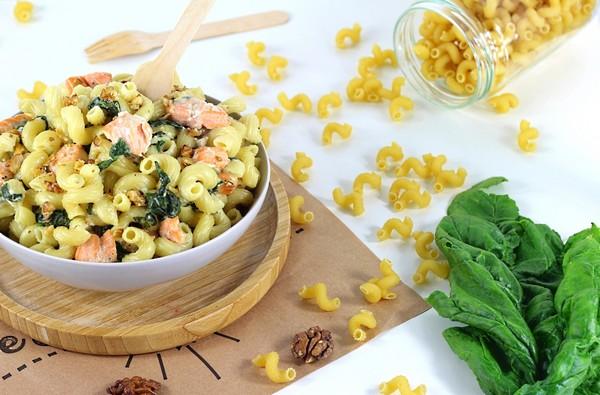 La recette du one pot pasta au saumon et à la vapeur douce