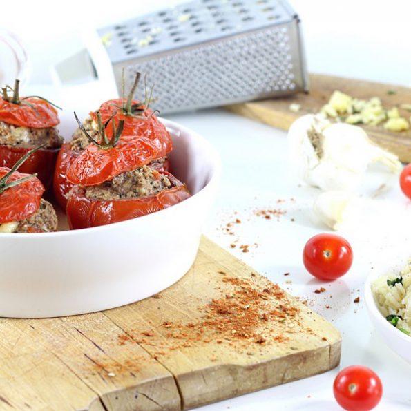 Les tomates farcies à l'omnicuiseur