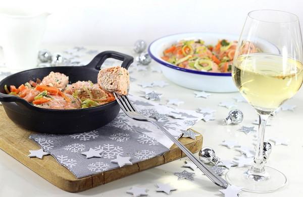 recette paupiettes aux 2 saumons et sauce au vin blanc magazine omnicuiseur. Black Bedroom Furniture Sets. Home Design Ideas