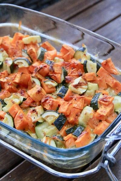 Un gratin aux légumes fondants